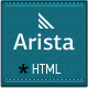 Arista - Parallax Responsive HTML Template - ThemeForest Item for Sale