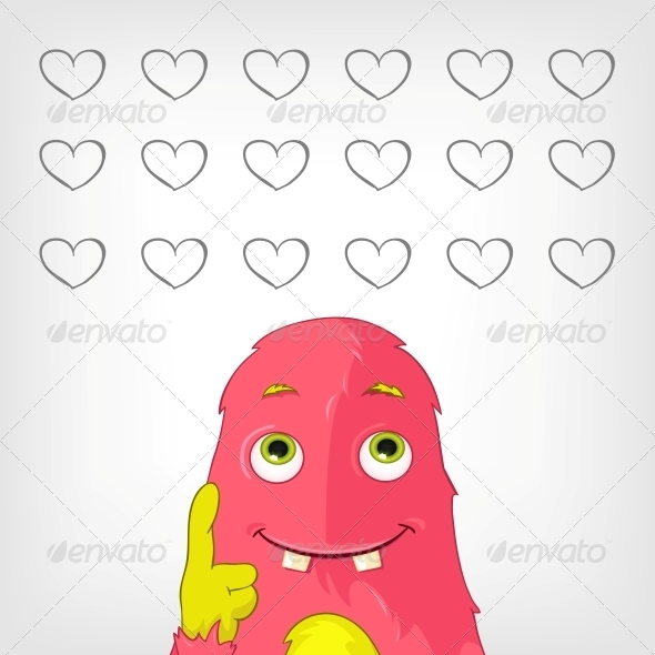 GraphicRiver Funny Monster 3909025