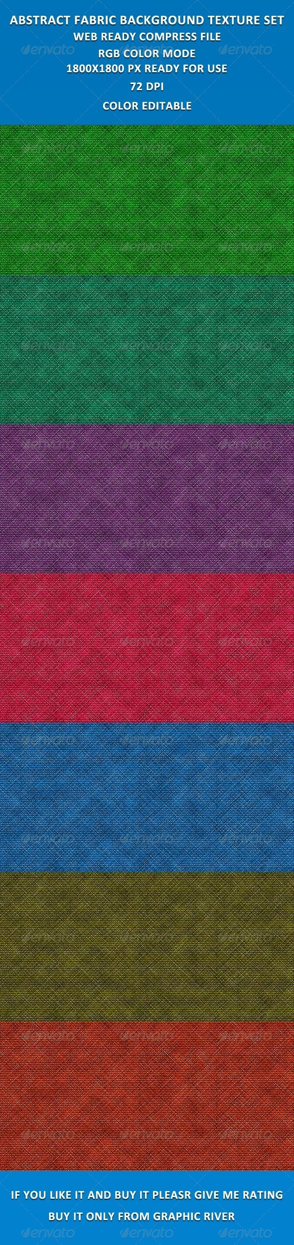 GraphicRiver Abstract Fabric Background Set2 3909181
