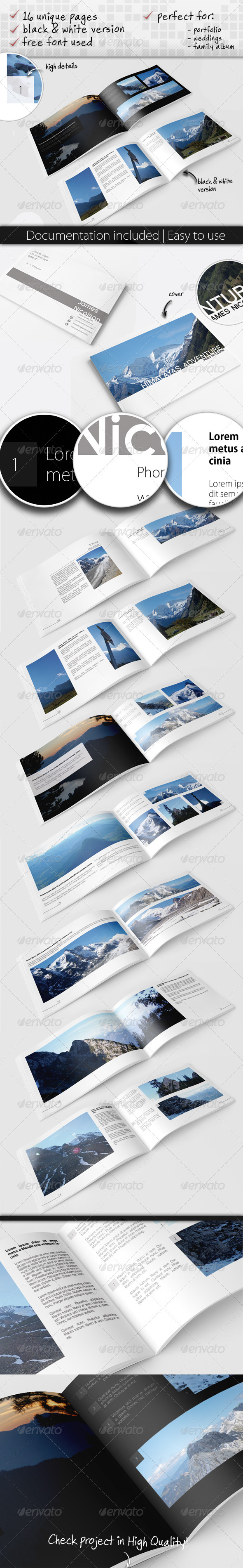 GraphicRiver Universal Album 3909205