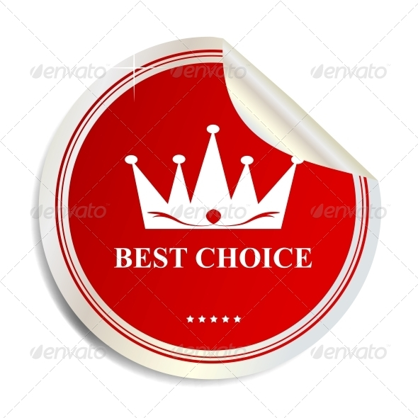 GraphicRiver Vector Best Choice Label Sticker 3909268