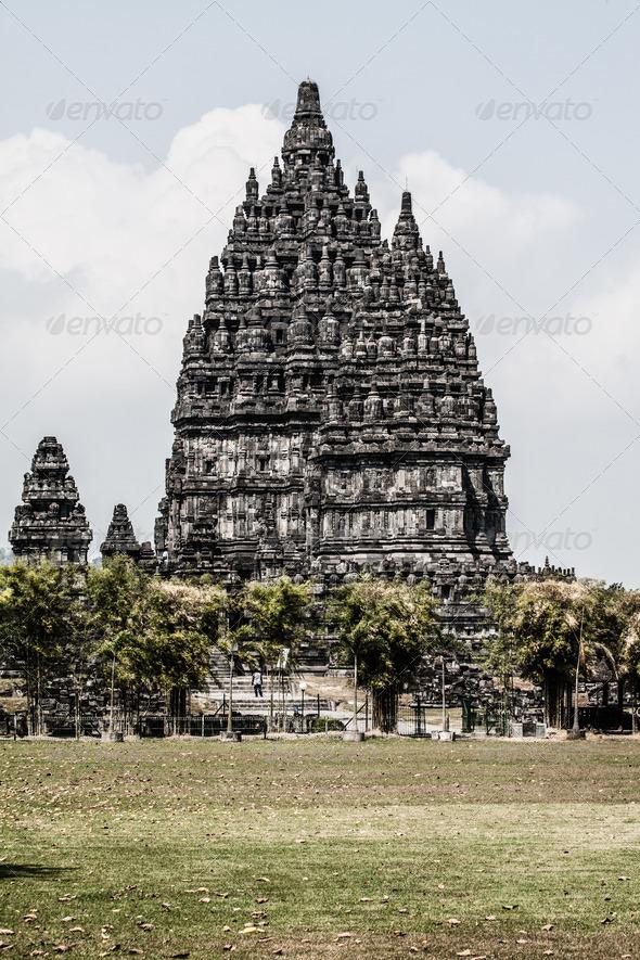 PhotoDune Hindu temple Prambanan Indonesia Java Yogyakarta 3911786