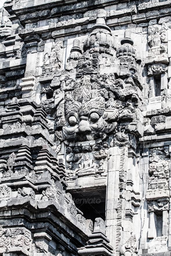 PhotoDune Hindu temple Prambanan Indonesia Java Yogyakarta 3911789