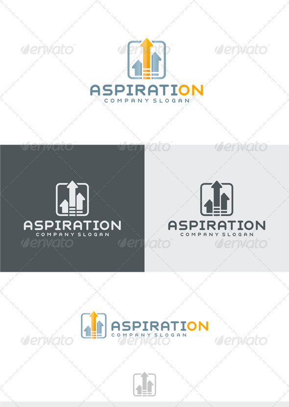 GraphicRiver Aspiration Logo 3787432