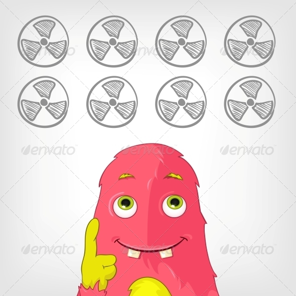 GraphicRiver Funny Monster 3910209
