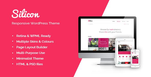 ThemeForest Silicon Responsive WordPress Theme 3910239