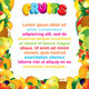 Juicy Fruits Background - GraphicRiver Item for Sale