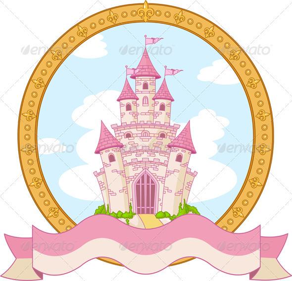 GraphicRiver Princess Castle Design 3911329