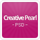 CreativePearl - Premium PSD Template - ThemeForest Item for Sale