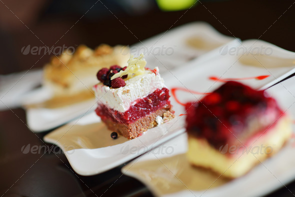 cakes and desserts - Stock Photo - Images