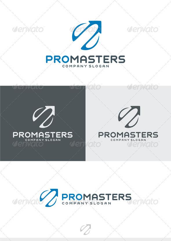 GraphicRiver Pro Masters Logo 3913471