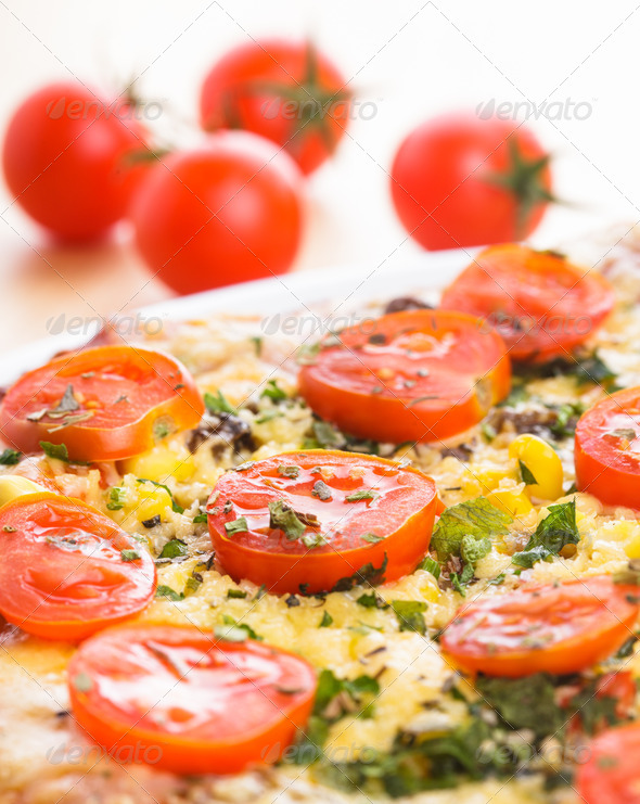 Pizza part - Stock Photo - Images