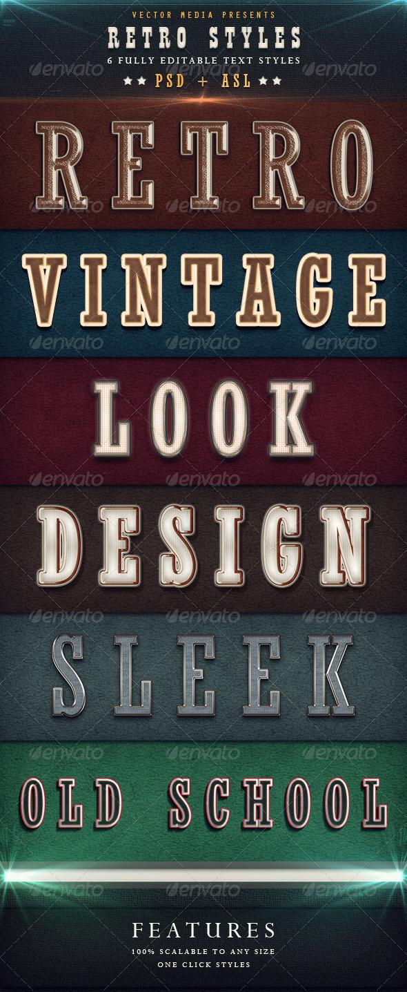 GraphicRiver Retro Styles 3831412