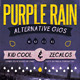 Purple Rain Poster and Flyer - GraphicRiver Item for Sale