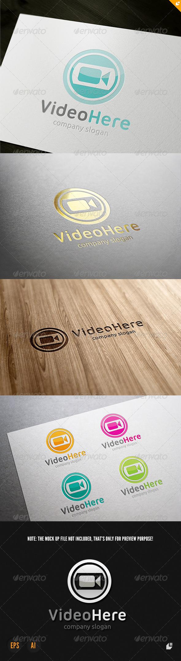 GraphicRiver Video Here Logo 3791432