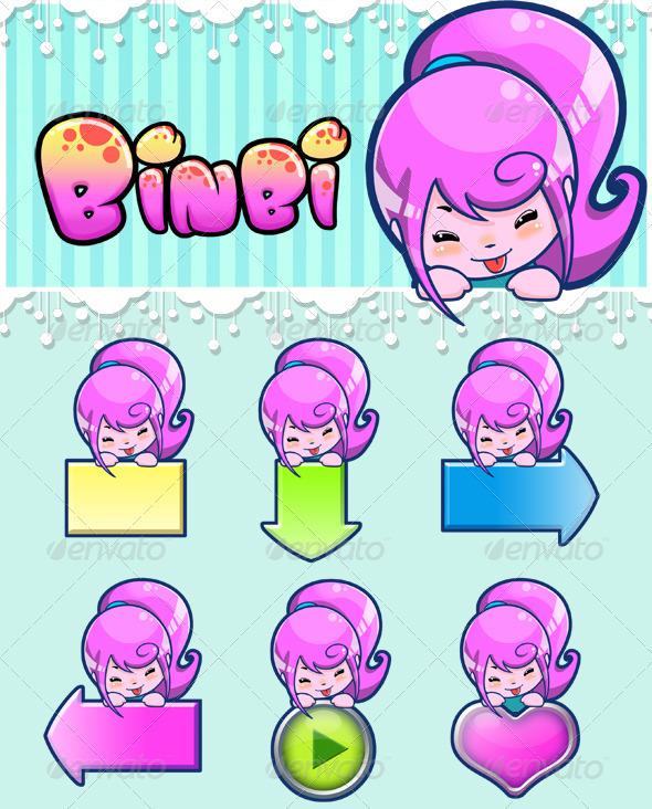 GraphicRiver Icon Chibi 3915347