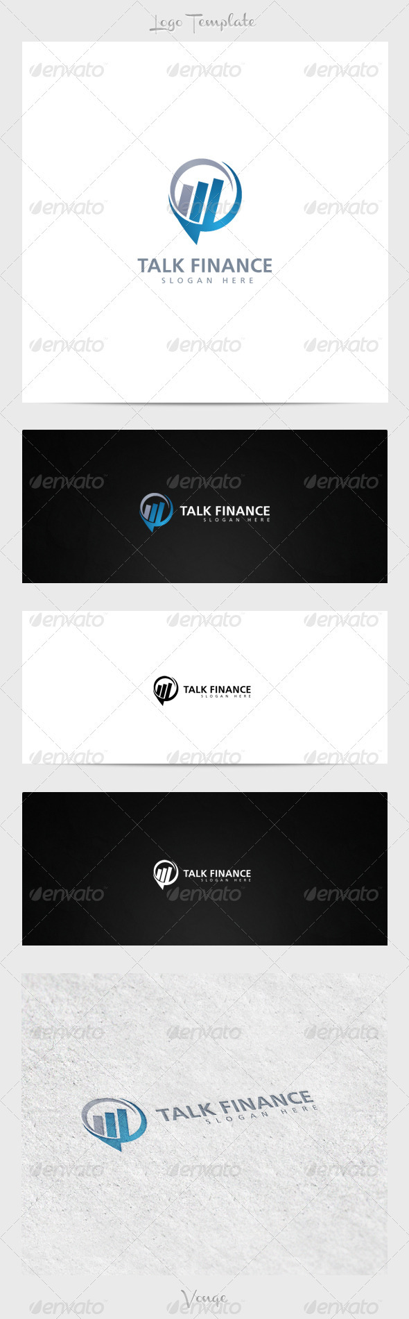 GraphicRiver Talk Finance 3915638