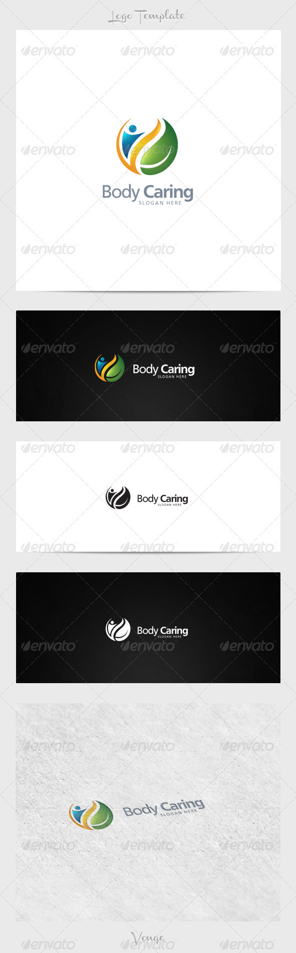 GraphicRiver Body Caring 3915651