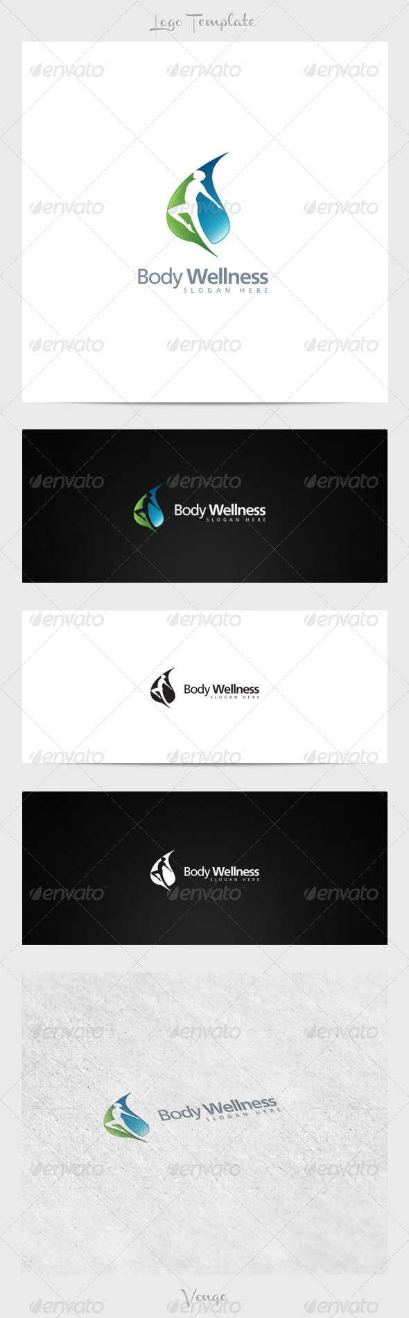 GraphicRiver Body Wellness 3915668