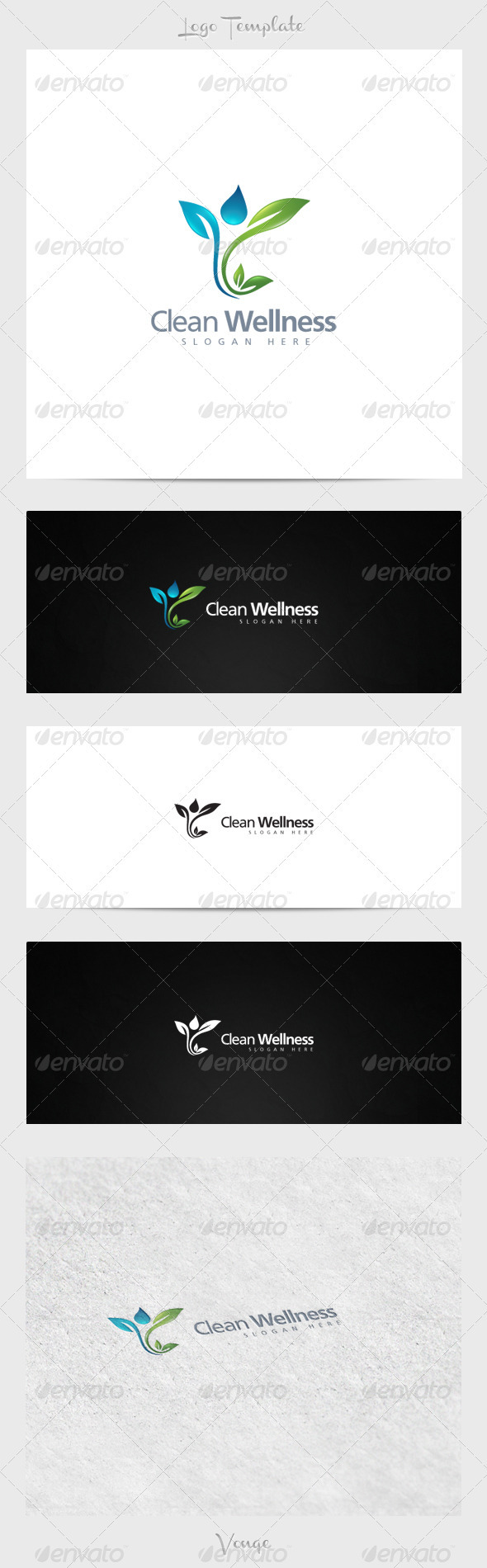 GraphicRiver Clean Wellness 3915768
