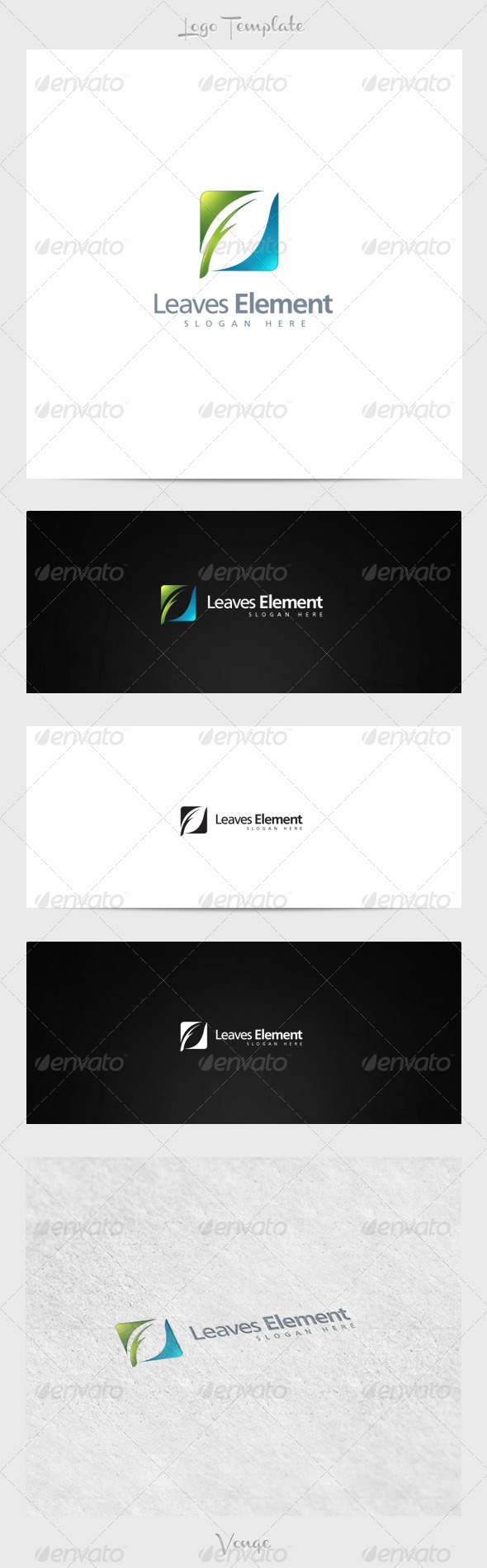 GraphicRiver Leaves Element 3915837