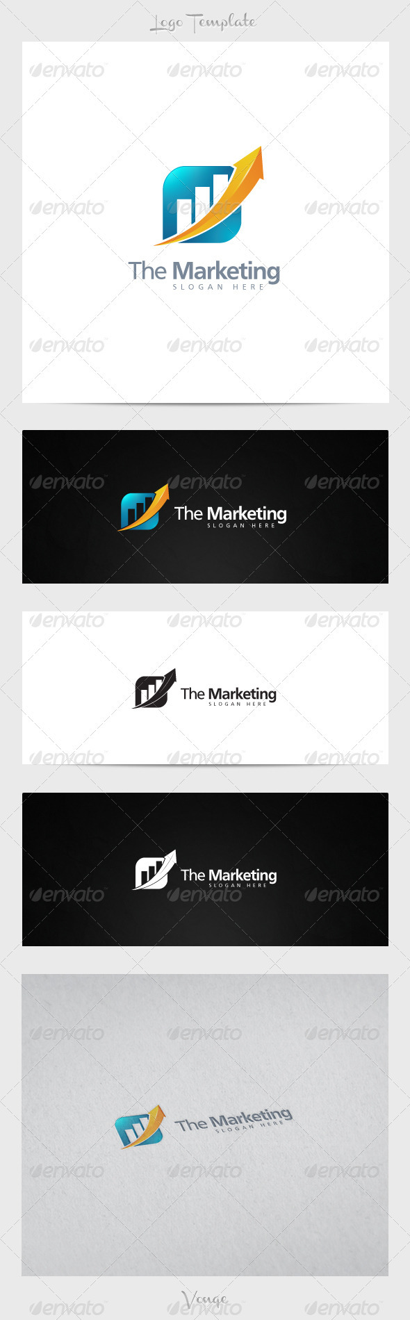 Marketing Company - Symbols Logo Templates