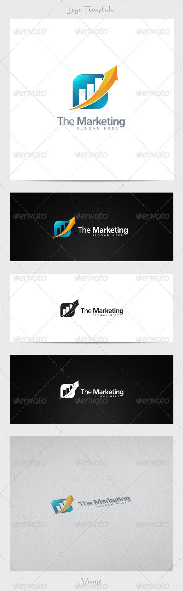 Marketing Company - Symbols Logo Templates