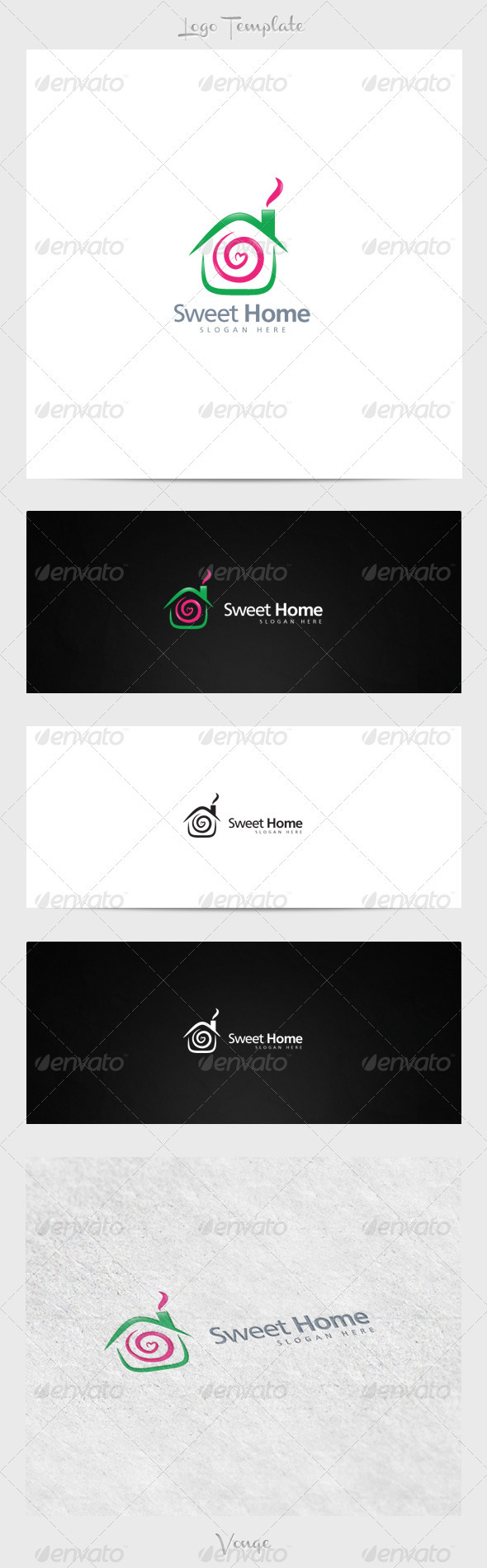 GraphicRiver Sweet Home 3915864