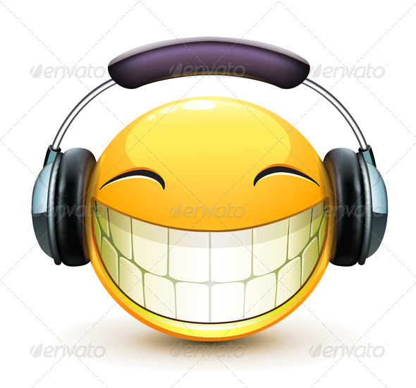 GraphicRiver Musical Emoticon 3916726