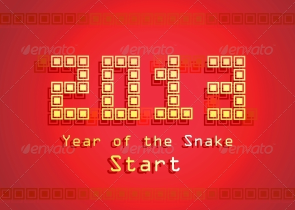 GraphicRiver Snake Year 3916892