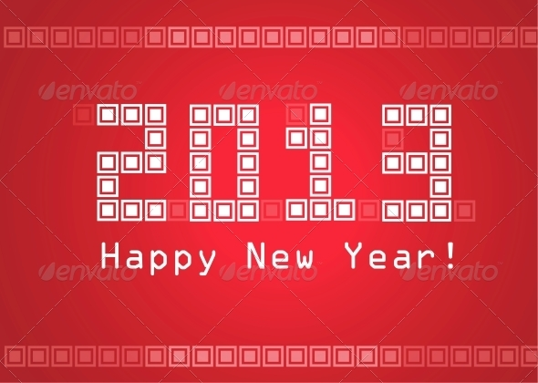 GraphicRiver Happy New Year 3916896