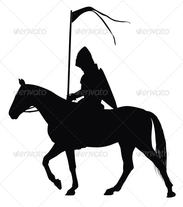 GraphicRiver Vector Horseman 3916915