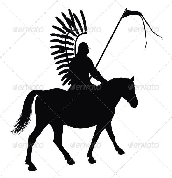 GraphicRiver Vector Horseman 3916917