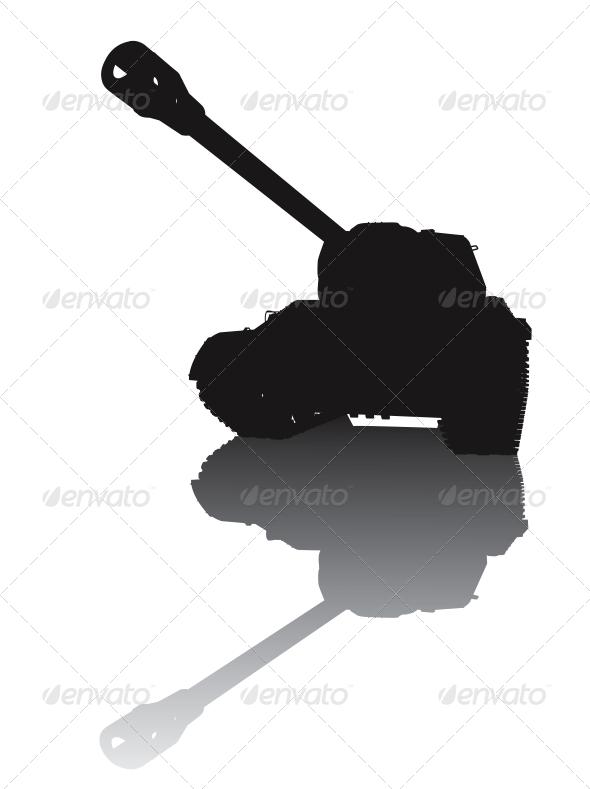 GraphicRiver Military silhouette 3916953