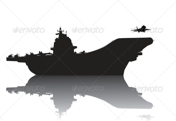 GraphicRiver Aircraft carrier 3916996