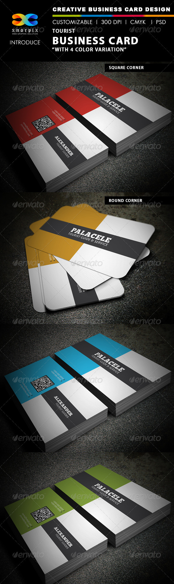 Tourist Business Card - Creative Business Cards