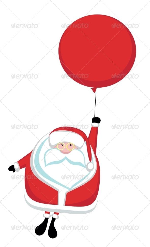 GraphicRiver Cartoon Santa 3917009