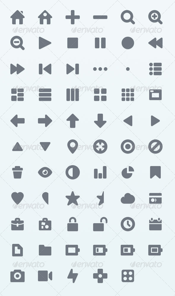 GraphicRiver Pictype Vector Icons 3917143