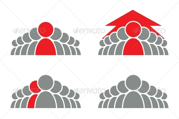 GraphicRiver Leadership Icon 3917229