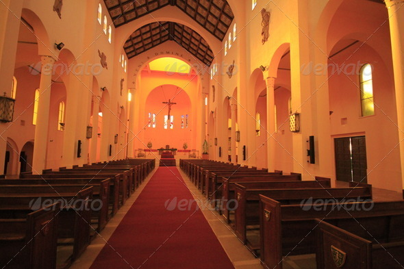 Stock Photography - Cathedral in Talca Photodune 3917770