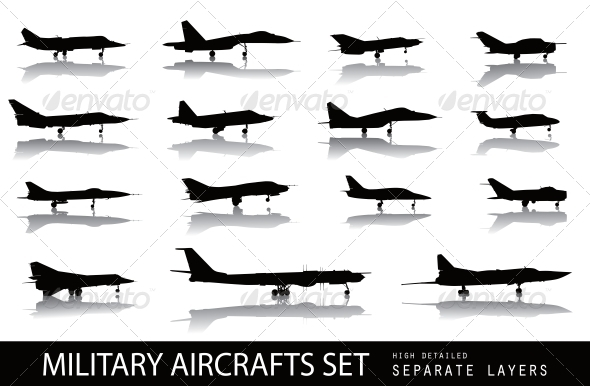 GraphicRiver Aircrafts 3917271