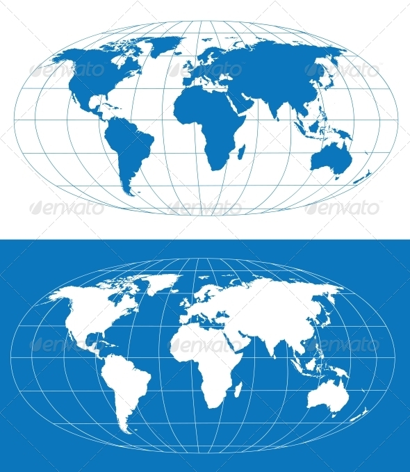 GraphicRiver Vector World Map 3917298