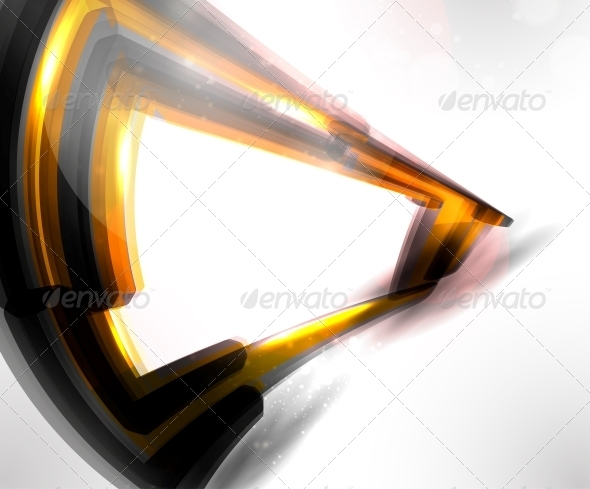 GraphicRiver Abstract Futuristic Technology Illustration 3917358