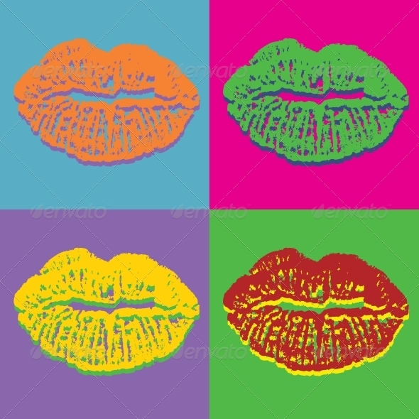 GraphicRiver Lips Set 3917360