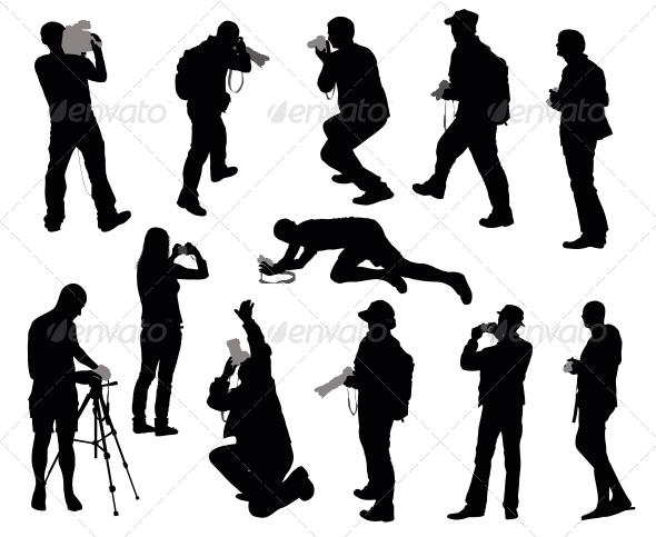GraphicRiver Cameramen Set 3917365