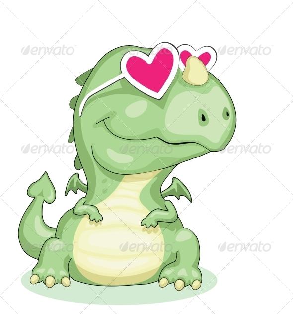 GraphicRiver Dragon in Love 3917814