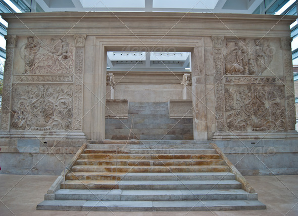 Stock Photography - Ara Pacis Augustae Photodune 3917959