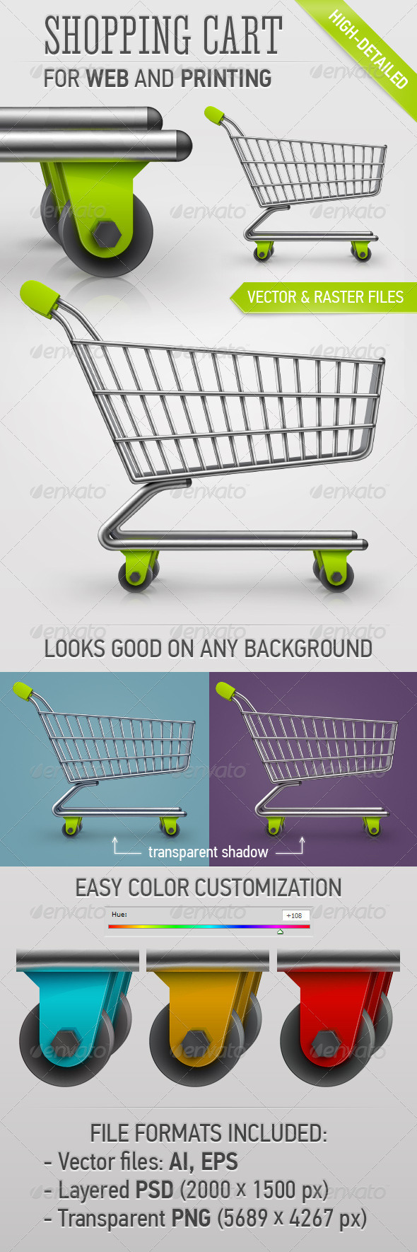 GraphicRiver Shopping Cart 3917925