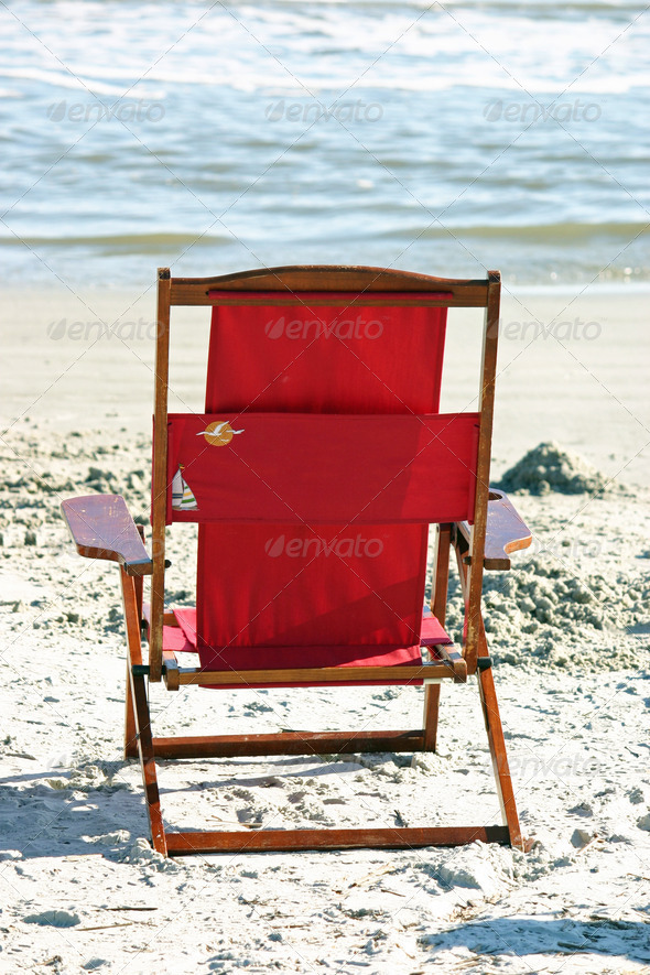 Stock Photography - Beach Chair Photodune 3918179