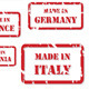 Made in Europe Rubber Stamps - GraphicRiver Item for Sale